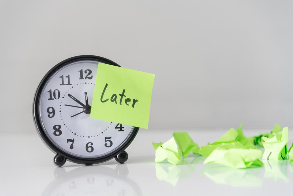 Astuce pour éviter la procrastination S'organiser